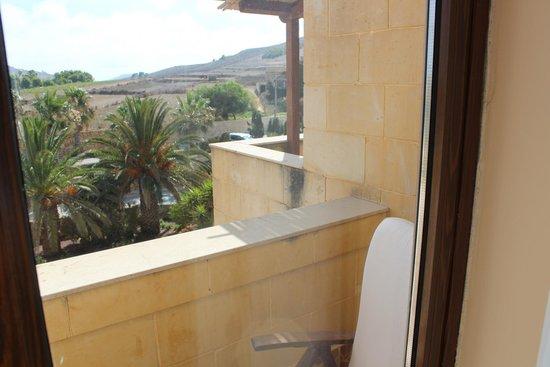 Kempinski Hotel San Lawrenz: View to our porch