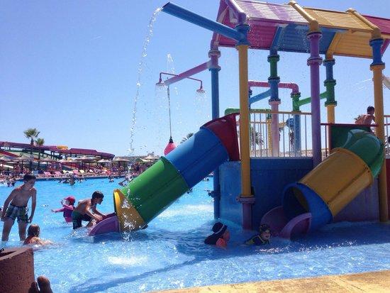 Hidropark: Una de las piscinas para niños.