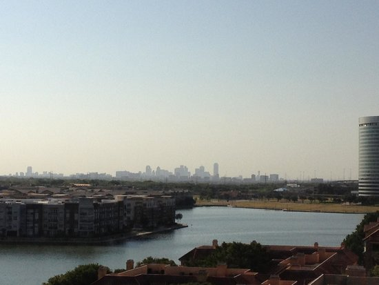 Omni Mandalay Hotel at Las Colinas: View from room 911