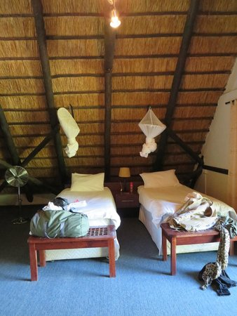 Victoria Falls Waterfront: our room