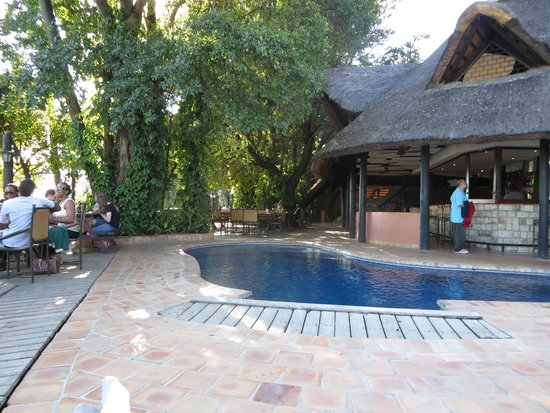 Victoria Falls Waterfront: pool area