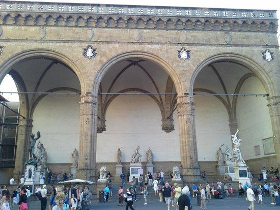 Piazza della Signoria : Arte e cultura para todos os lados!