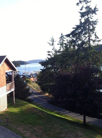 WorldMark Deer Harbor: View south from our porch
