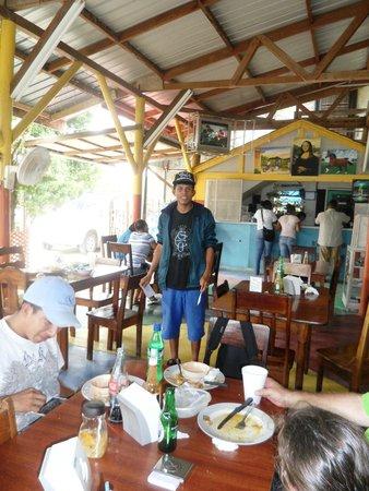 duPlooy's Jungle Lodge: At Benny's restaurant