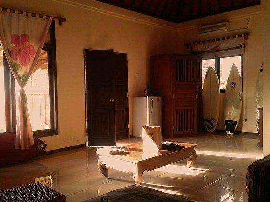 Villa Tepi Kali : spacious room