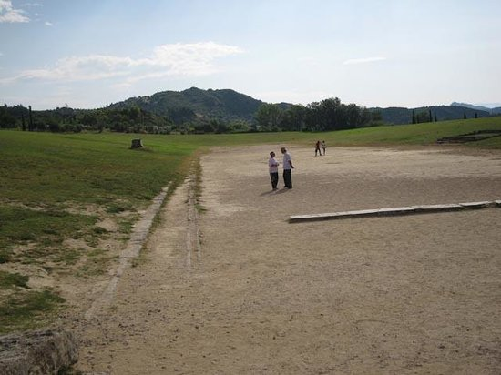 Ancient Olympia: The original Olympic field