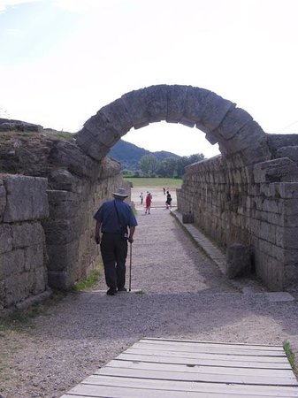 Ancient Olympia: Entrance to the field of competion