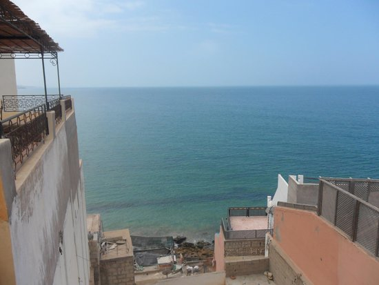 Ocean Surf House Taghazout: view from roof top