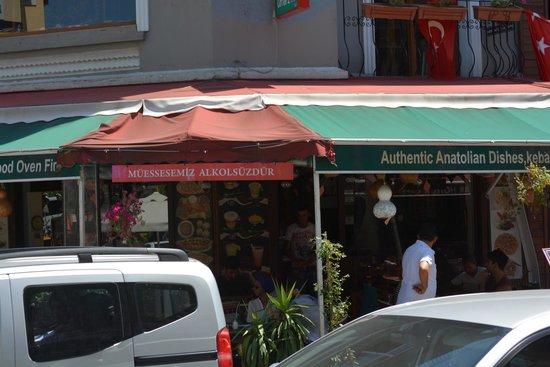 Cafe Rumist : Outside