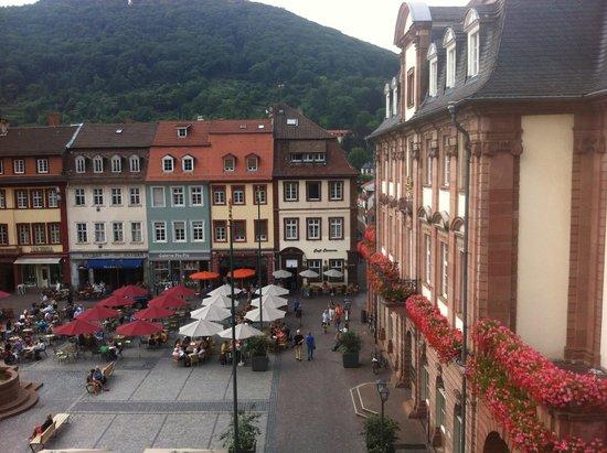 Hotel Goldener Falke: View from the room