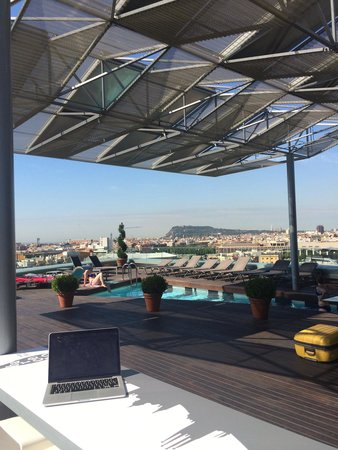 Hotel Diagonal Barcelona: Roof top