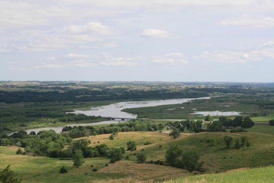 Niobrara State Park: Niobrara River from a picnic area
