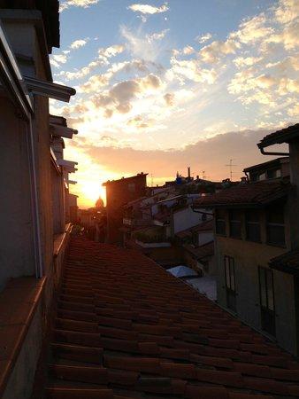 Pitti Palace al Ponte Vecchio: Sunset the second