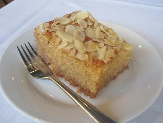 Pomir Grill: Afghan almond cake with honey syrup