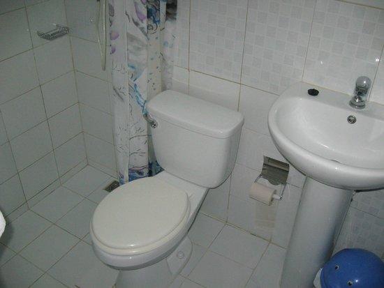 Hostal Dr. Suarez y Sra. Addys: Washroom/Shower in smaller room