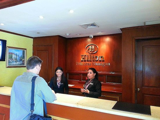 Hilton Princess Managua: lounge