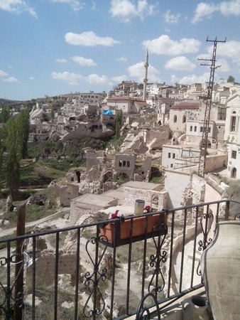 Babayan Evi Cave Boutique Hotel: Muhtesem manzara