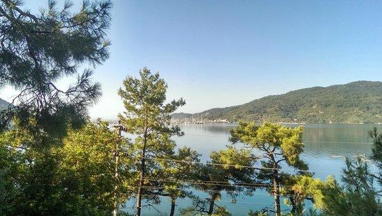 Club Nimara Beach Resort : View from room