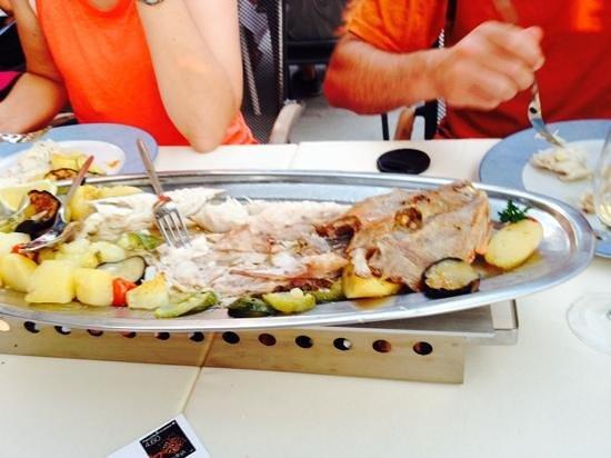 Konoba Toranj: fresh fish and roasted veggies at Toranj