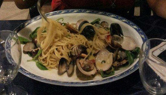 La Sirena del Mare : Spaghetti ai frutti di mare