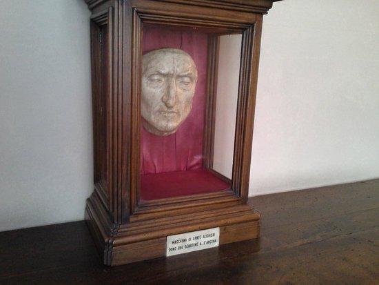 Museo di Palazzo Vecchio : Máscara de Dante