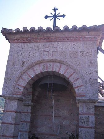 Roussanou Monastery : Bell tower
