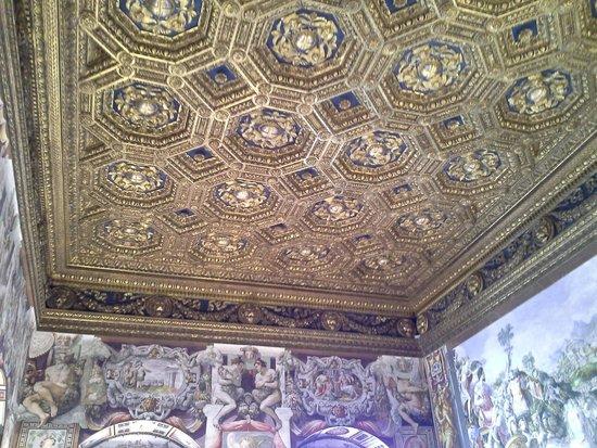 Museo di Palazzo Vecchio : Um dos belíssimos tetos!