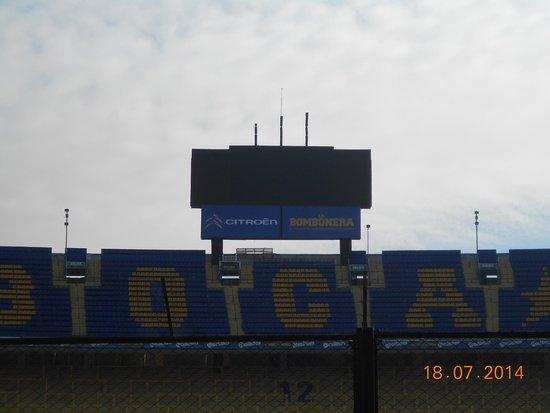 Estadio Alberto J. Armando (La Bombonera) : Famoso!