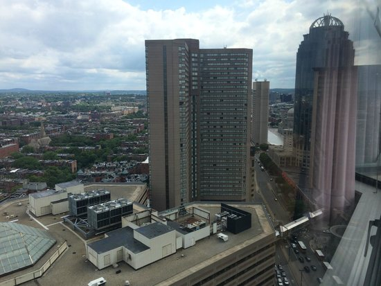 The Westin Copley Place, Boston: View from my room
