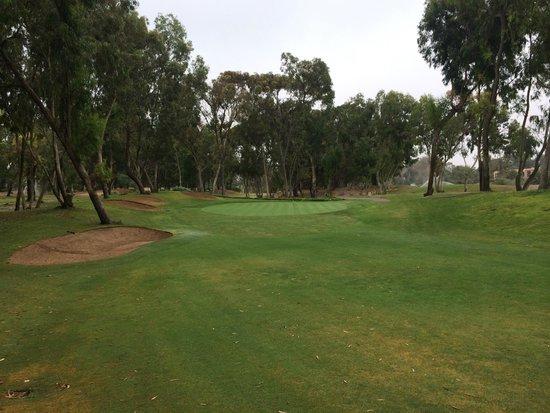 Golf du Soleil : typical view