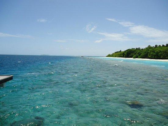 Royal Island Resort & Spa: sea