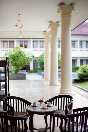Billiton Hotel and Klub: Veradah Restaurant