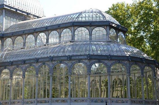 Palacio De Cristal: vista externa
