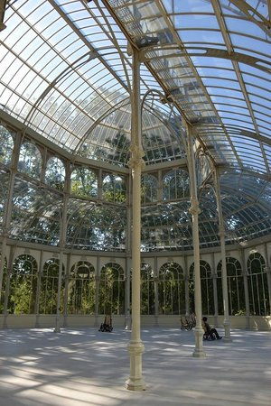 Palacio De Cristal: detalhe do interior