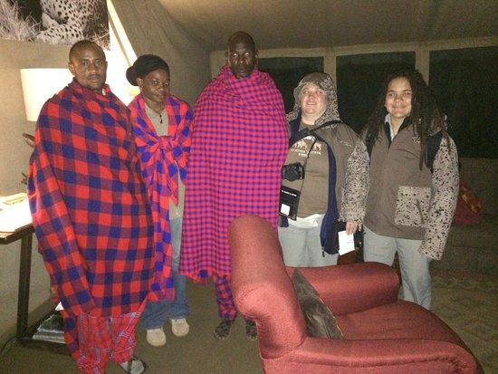 Nairobi Tented Camp: Masai camp staff