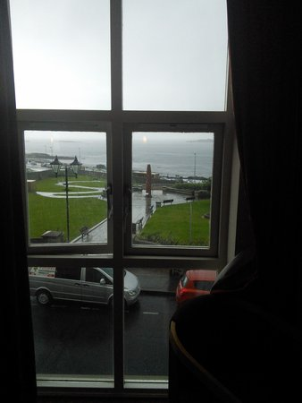 Portrush Atlantic Hotel : room with a view