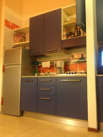 Euro Residence Club: Cucina appartamento tipologia Z