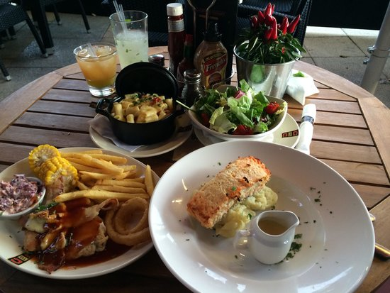 Coast to Coast: Our meal
