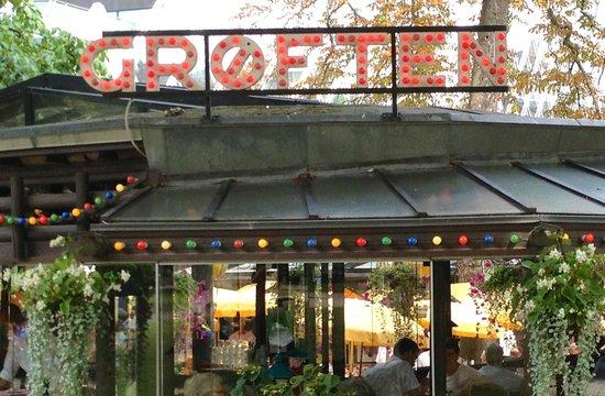 Restaurant Grøften: At Tivoli Gardens.
