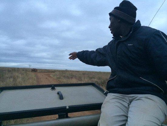 Nairobi Tented Camp: Andrew the Masai guide