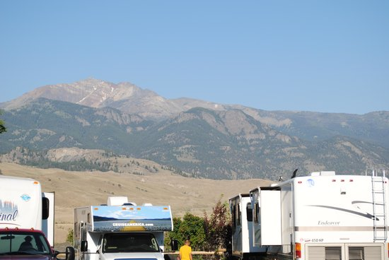Rocky Mountain RV Park and Cabins: The View