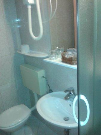 Hotel Petka: Baño