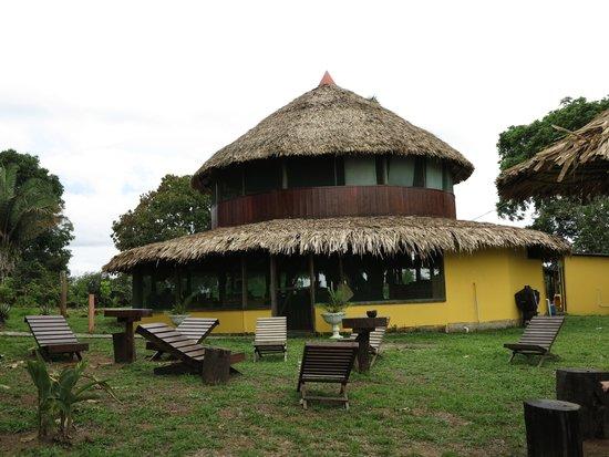Amazon Turtle Lodge : столовая
