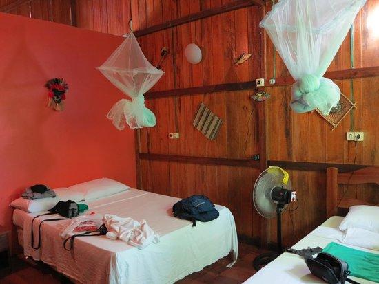 Amazon Turtle Lodge : внутри
