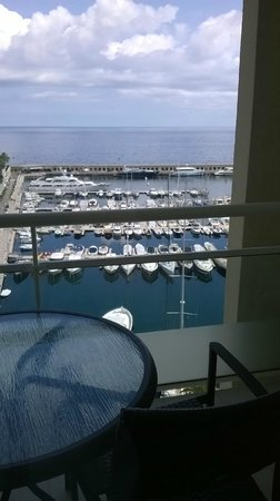 Riviera Marriott Hotel La Porte de Monaco: Balcony