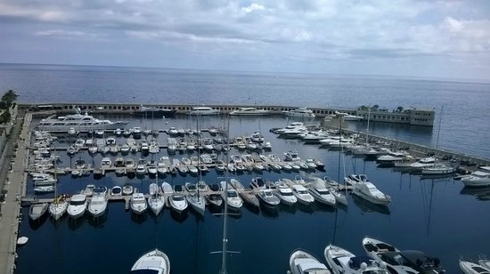 Riviera Marriott Hotel La Porte de Monaco : Great View