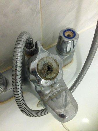 Carrington House Hotel: filthy broken shower