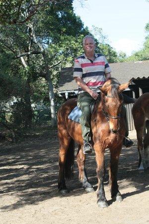 Bhangazi Horse Safaris: op Gando Gando