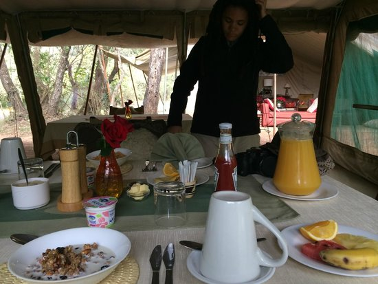 Nairobi Tented Camp: food