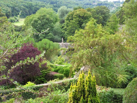 Iford Manor: The Peto Garden: Views from the grounds of Iford Manor